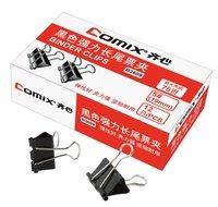 Binder clips lashed 19mm b3609 black liras purse clip 75 paper elastic  Free Shipping (Pack of 12 Pcs)