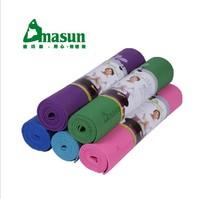 Antibacterial professional printing PVC yoga mat 6mm nontoxic fitness mat