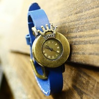 Free shipping wholesale 2014 vintage watches roman number hot sale dropship