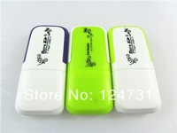 Good Selling Free shipping USB 2.0 Adapter Micro SD Card Reader ,TF Flash Memory Card Reader 100pieces