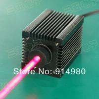 Laser Wavelength 650nm / 250mW / 3 ~ 5.5VDC industrial laser modules red laser dot laser head cooling for a long time to work