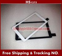Prestigio 10PCS/LOT 7inch HS1275 Touch Screen white/black for TEXET NaviPad TM-7049 3G Touch Panel Tablet Touch Digitizer V106pg