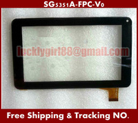 """10 pcs/ lot S11SG5351A-FPC-V0 7""""inch Touch Digitizert For RK3168 Due Core Cortex-A9 Tablet PC Touch Screen digitizer Texet"""
