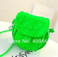 Women's handbag small bag 2014 summer candy color mini bags messenger bag vintage cross-body bags high quality hot selling