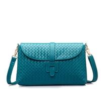 2014 women's embossed fashion handbag spring female vintage solid color messenger bag fashion all-match small bag
