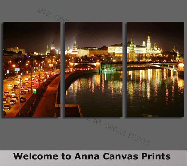 La peinture des pièces 3 moscou, kremlin numérique de haute qualité