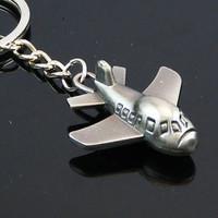 Free shipping 115304 simulation mini aircraft key chain (zh) Christmas
