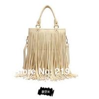 2014 fringed shoulder bag large hand bag woman bag diagonal casual handbags factory outlets