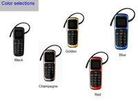 World's First mini Ear-hook Bluetooth Mobile Phone Bluetooth Dialer Earphone Call English