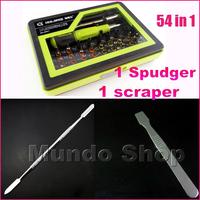 53 in 1 Screwdriver set Pentalobe 0.8mm 1.2mm For iphone Macbook Repair Tools cacciavite Schraubendreher+1 Spudger+1 Scraper