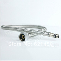 Hot sale! Stainless Steel Faucet Hoses Tap Hoses 100CM Hot and Cold Water Braided Tube Plumbing Hoses