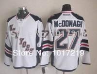 Free Shipping Cheap 2014 Ice Stadium Series Hockey Jersey New York Rangers #27 Ryan McDonagh Jersey,Embroidery Logos