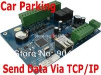 1 pcs Door Controller Board + Data Record upload by TCP/IP LAN, Web IP Control + 2 pcs EM Card swipe card reade for Car parking