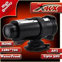 Free shipping HD 720p AT10 Black car dvr car camera video 5.0 Mega pixels Sport Bicycles Outdoor DV DVR Waterproof Series