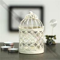 Retro Hollow Wedding Decor Candle Holder European Lantern for Home Decor
