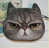 wholesale 20 pcs/lot fashion design women floral coin purse case key small cat wallet., free shipping