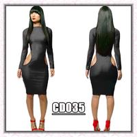 NEW 2014 spring summer Bandage bodycon sexy & club PARTY dress elegant sexy women black dresses vestidos de fiesta QE78