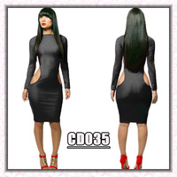 NEW 2014 spring summer Bandage bodycon sexy & club PARTY dress elegant sexy women black dresses vestidos de fiesta QE78