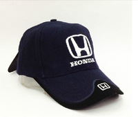Wholesale ! Men Honda Racing F1 embroidered cotton hat , Motorcycle Hats ,outdoors baseball cap 4 colors