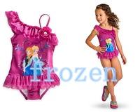 wholesale 2014 frozen girls swimwear bikini children  swimwear girls swimsuit &swimwear for girl