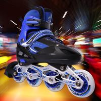 Skating shoes child set single adjustable skating shoes inline skate shoes roller skates