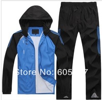 free shipping New spring 2014 Brand Special Campus Youth Sports Suit Men Casual Clothing set Sportswears Tracksuits