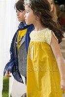 2014 spring and summer female child exquisite embroidery elegant gentlewomen dress one-piece dress princess dress