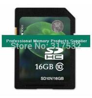 Full capacity 16GB SDHC memory card Class 10 high speed free shipping