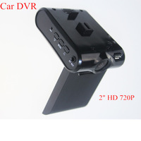 "Night Vision 2"" HD 720P JPG AVI Car DVR Vehicle Camera Crash Cam Video Recorder"