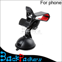 2pcs 2014 new windshield 360 degree rotating car sucker mount bracket holder stand universal for phone mini gps accessories