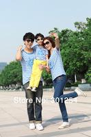 2014 new 100% cotton short sleeves family t-shirt children set