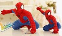 20cm Free shipping Genuine Amazing Spider-Man dolls, plush toys, doll trumpet spider birthday gift