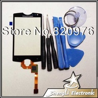 100% Original Lcd Touch Screen Touchscreen Digitizer Glass Replacement For Sony Ericsson ST15i ST15((Xperia mini) Free Shipping