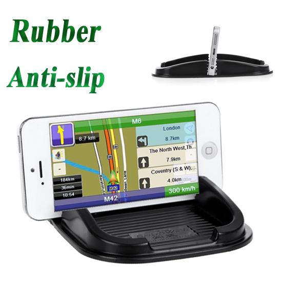 Multifunctional Rubber Anti-slip Mat Car Dashboard Non-slip Mat Magic Sticky Pad for iPhone Phone PDA MP3/4(China (Mainland))