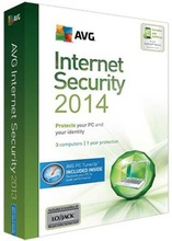 AVG Internet Security 2014 2013 Full-function 4Years /3PCs Anti-virus software(China (Mainland))