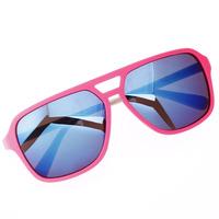2014 men women fashion sunglasses color coating polarized 100% UV400 mirror lens garage rock clubmaster sunglasses oculos de sol