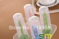 Hot  4pcs/set Cylinder Shape Popsicle box DIY Ice Cream Tool Ice Cube Tray Mold Ice Cream Maker  Ice Cream Tubs(ICM-031)