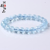 Top 5a aquamarine bracelet natural crystal accessories bracelets ice