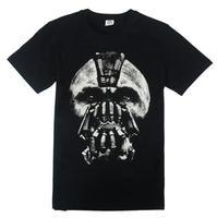 Free Shipping The Dark Knight Rises Bain Cotton T-shirt Men Casual Black Slim Tshirt Batman Tops