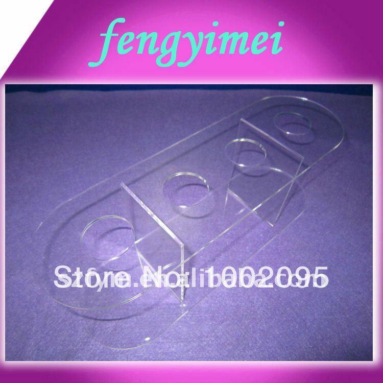 High quality plexiglass ice cream display holder via DHL/uPS/Fedex(China (Mainland))