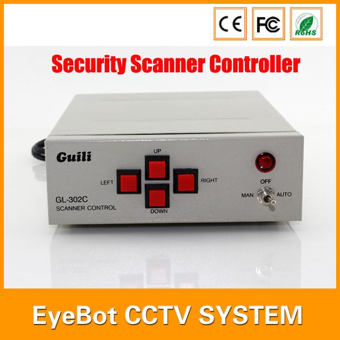 GL-302C PTZ CCTV Security Scanner Controller for PTZ Bracket 24V and 220V Optional CCTV Accessories()
