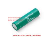 VARTA - 6117101301- BATTERY, LITHIUM, CRAA
