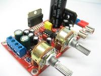 Three-channel subwoofer amplifier board 7379   Two NE5532 enlarge