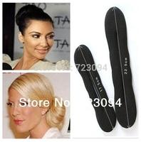 New Arrival Fashion Foam Sponge Style Magic Bun Former Hair Styling Maker Tool Clip Twist Accessories ZYJ59A