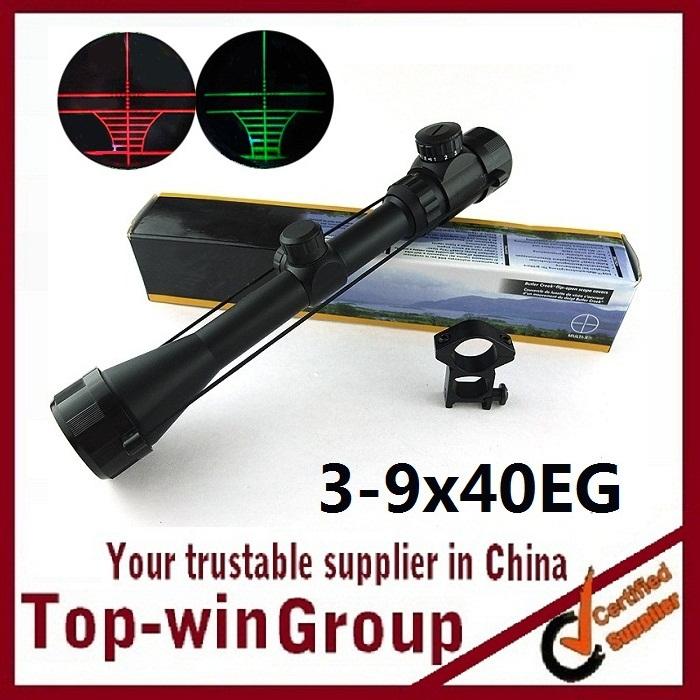 Винтовочный оптический прицел Topwin 3/9 x 40 & 2 3-9x40eg прицел gamo 3 9х40 llwr ve39x40wrv w1pmv
