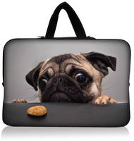 """Cute Dog 15.1""""15.3"""" Neoprene Laptop Sleeve Netbook Pouch Cover Holder Case Bag Protector Handle Waterproof Dustproof"""
