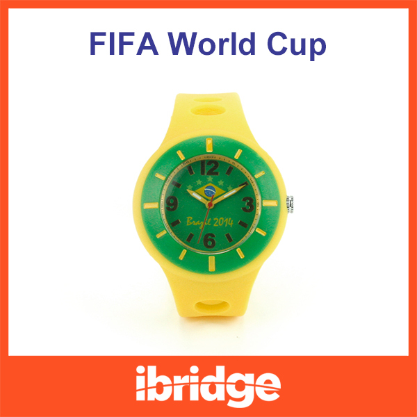 The Brazilian World Cup 2014 Theme watch fashion national flag watches men military sports Casual quartz wristwatches(China (Mainland))