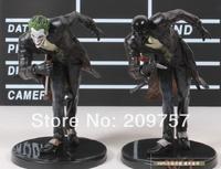 2 pcs Set DC Comics Uniiverse The Joker and Roman Sionis PVC Action Figure Model 14cm