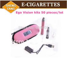 Free DHL Shipping 50Pieces/lot Ego Vision Spinner Battery Mini Protank 2 Atomizer kit Electronic Cigarette E-cigarette kits