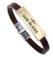 Q3620  Qi Connaught New antique copper bracelet bracelet religious jewelry (God forbid) Yiwu  B5